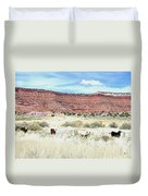 Utah 7 Duvet Cover