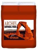 Utah, Arches, National Park Duvet Cover