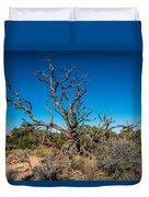 Utah Juniper Duvet Cover