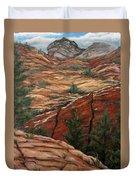 Utah Paradise Duvet Cover