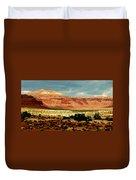 Utah Plateau Mtn M 302 Duvet Cover
