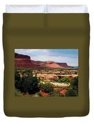 Utah Plateau Mtn M 303 Duvet Cover