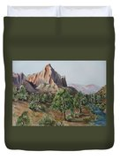 Utah Valley Duvet Cover