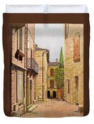 Uzes, South Of France Duvet Cover