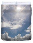 V Cloud Under The Sun  Duvet Cover