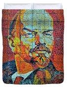 V. I. Ulyanov. Mosaic. Sochi Park. Duvet Cover