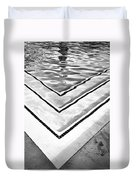 V Shape Palm Springs Duvet Cover