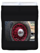 V8 Wheels Duvet Cover