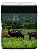 Vacas De Ahuachapan 2 Duvet Cover