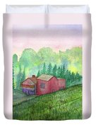 Vacation Home Duvet Cover