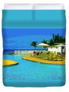 Vacation Time Duvet Cover