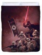 Vader Vs Aliens 3 Duvet Cover