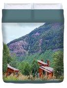 Vail Landscape Duvet Cover