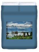 Valencia Lake Duvet Cover