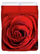 Valentine Swirl Duvet Cover by Tracy Hall