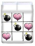 Valentine Violence Duvet Cover