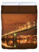Valentine's Day In Chattanooga Duvet Cover