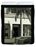 Valentino On Rodeo Drive Duvet Cover