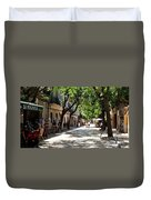 Valldemossa Street View Duvet Cover
