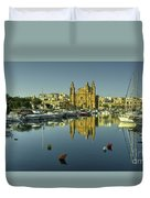 Valletta Reflected  Duvet Cover