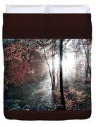 Valley Creek Sunrise Duvet Cover