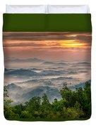Valley Fog Duvet Cover