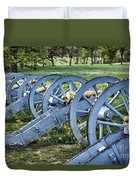 Valley Forge Artillery Park Duvet Cover