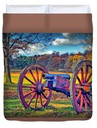 Valley Forge Canon Duvet Cover