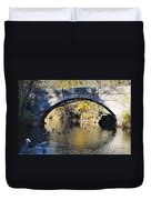 Valley Green Bridge Duvet Cover by Bill Cannon