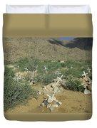 Valley Of Dead Men's Bones Duvet Cover