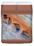 Valley Of Fire Rainbow Sandstone Duvet Cover
