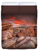 Valley Of Fire Duvet Cover