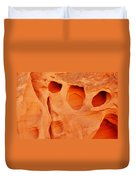 Valley Of Fire Sandstone Duvet Cover