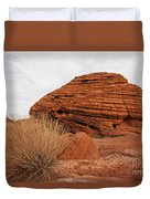Valley Of Fire State Park Beehives Duvet Cover
