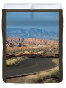 Valley Of Fire State Park Rainbow Vista Duvet Cover