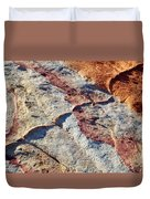Valley Of Fire White Domes Sandstone Duvet Cover