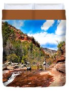 Valley Of Life Duvet Cover