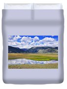 Valley Of The Serpent Duvet Cover