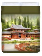 Valley Of The Temples Duvet Cover