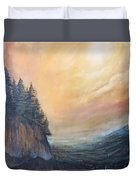 Valley Of Trees Duvet Cover