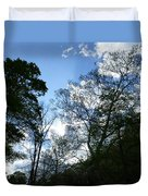 Valley Sky View Duvet Cover