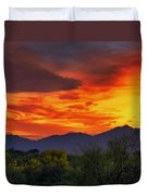 Valley Sunset H32 Duvet Cover