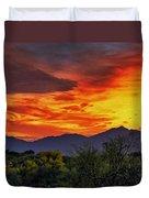Valley Sunset H33 Duvet Cover