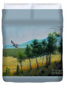 Valley View From Up The Hill Duvet Cover