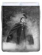 Vampire In The Fog Duvet Cover