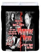 Vampire Noir Duvet Cover