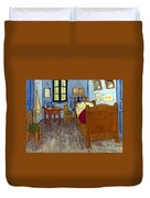 Van Gogh: Bedroom, 1889 Duvet Cover