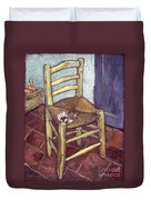Van Gogh: Chair, 1888-89 Duvet Cover