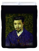 Van Gogh: Dr Rey, 19th C Duvet Cover
