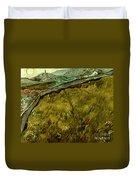 Van Gogh: Field, 1890 Duvet Cover